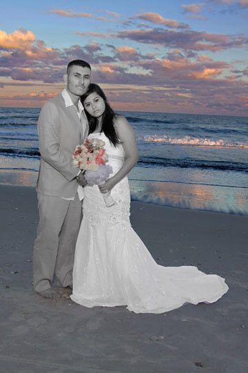 myrtle beach sc bride and groom