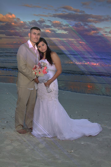 bride and groom myrtle beach sc