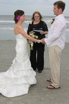 wedding ceremony on myrtle beach sc