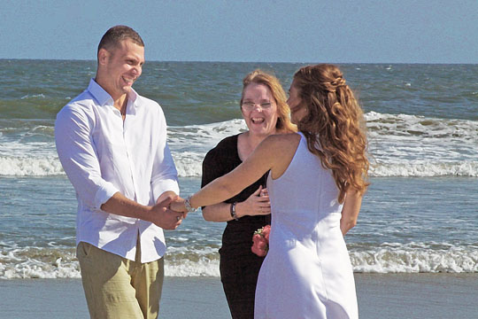 wedding on myrtle beach sc